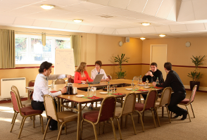 image of a meeting at Roundwood in Norwich