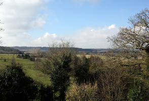 image of the view from Roundwood in Norwich