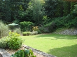 Garden opening from the function room