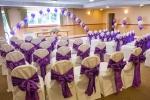 Cadbury's Purple Satin Sashes for impact