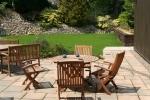 Enjoy the sun on our patio