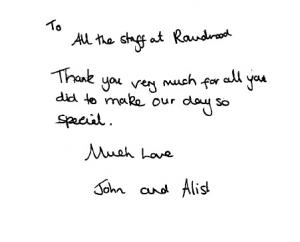 John & Alisha