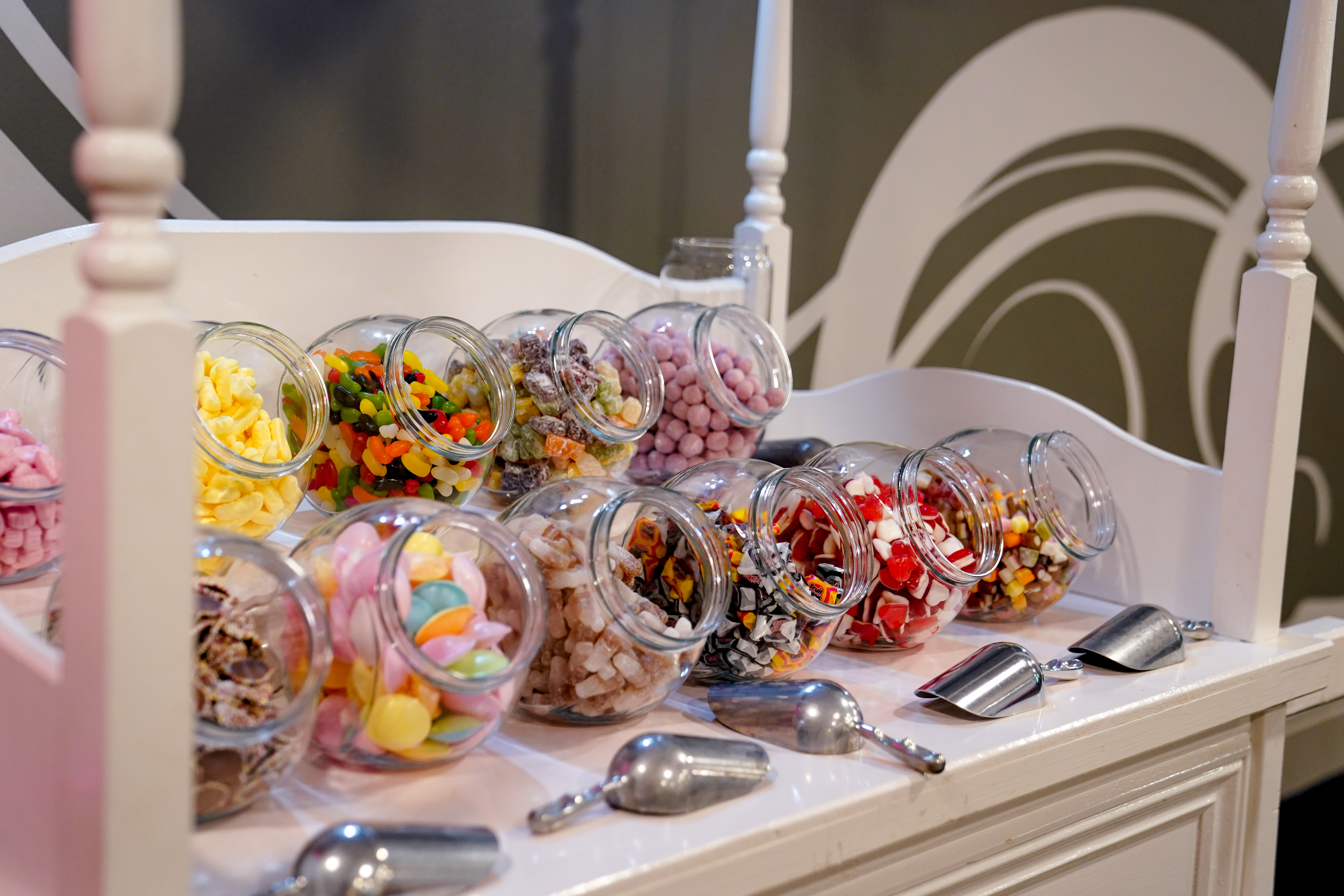 Everyone loves our Candy Cart!!